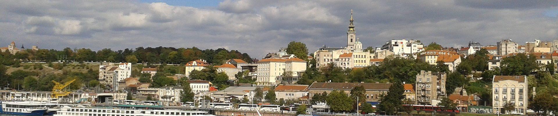 Beogradske Opstine Karta Beograda